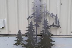 raw steel trees