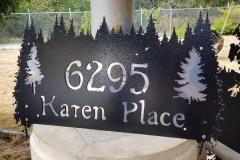 2 plate address cut from steel