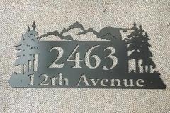 2463 Address Sign