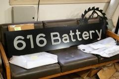 616 Battery Custom Address