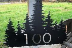 Tree Group Address Matte Black