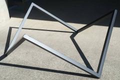 custom furniture base steel