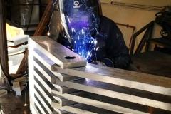 entertainment centre welding