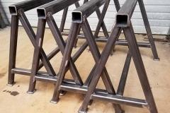 custom metal sawhorse