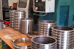 machining 12 inch pipe