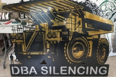 DBA Silencing Mining Truck