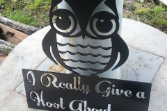 I Really Give A Hoot about you