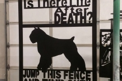 Is there life after death, jump this fence and find out