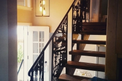custom stair railing inserts metal powder coated (7)