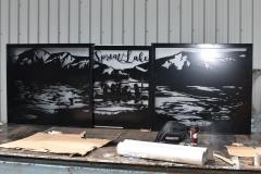 welded gate panels