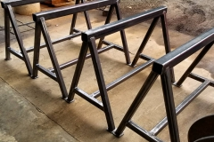 steel sawhorse