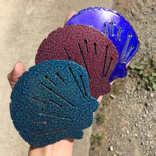 Cobalt blue - Knitting