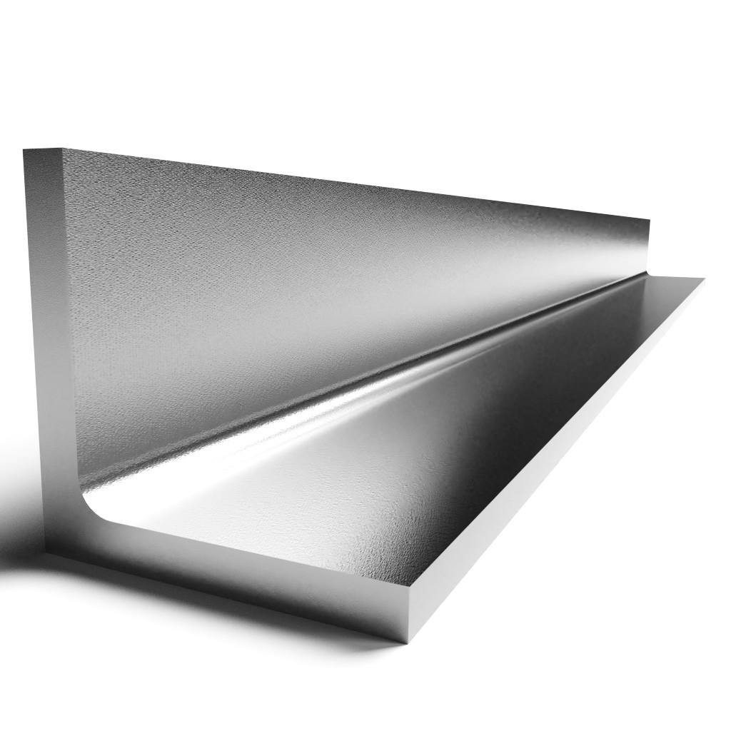 "Aluminum Angle 6061 T6 1 1//2/"" x 1 1//2/"" x 1//4/"" wall x 48/"""