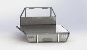 CAD metal truck box