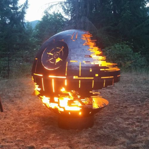 Death Star - Fire pit