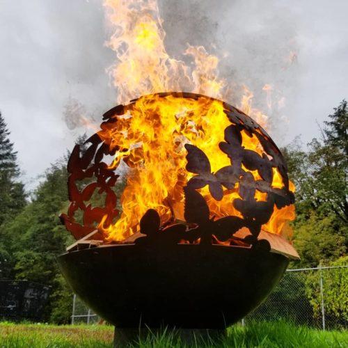 Quotation mark - Fire pit