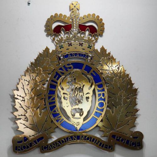 Badge - Royal Canadian Mounted Police