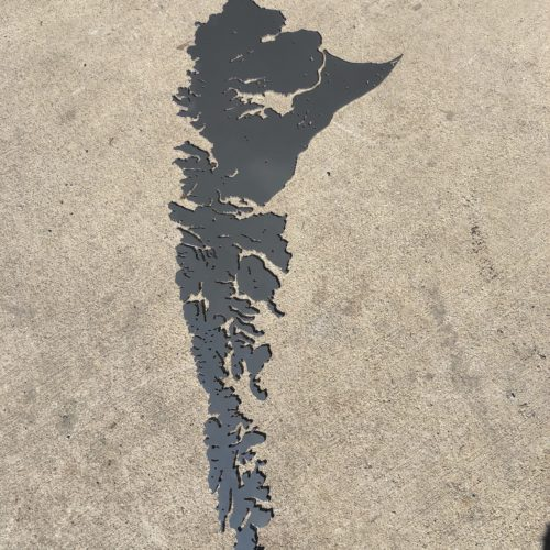 Haida Gwaii - Road surface