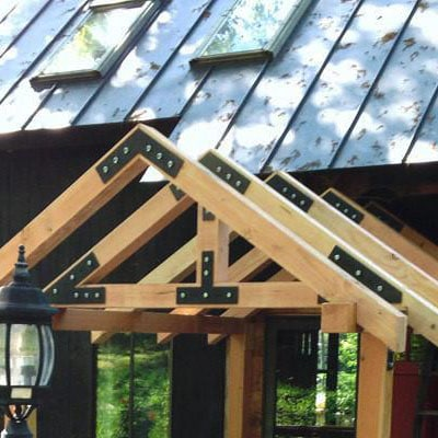 """4"""" - 8"""" Timber Frame Collection"""