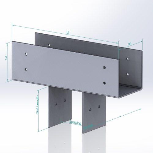 Timber framing - Steel
