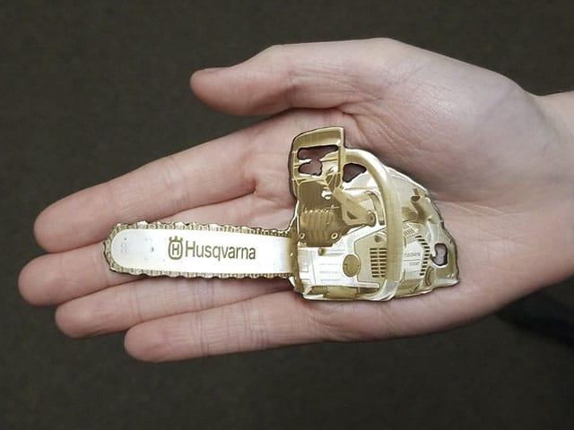 Custom Powersaw Keychain