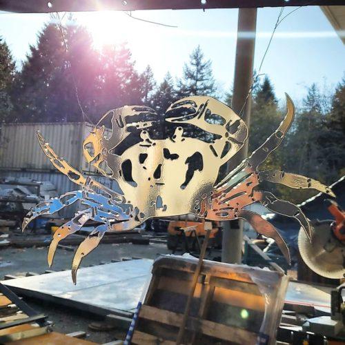 Electron Metalworks LTD. - Abrasive blasting
