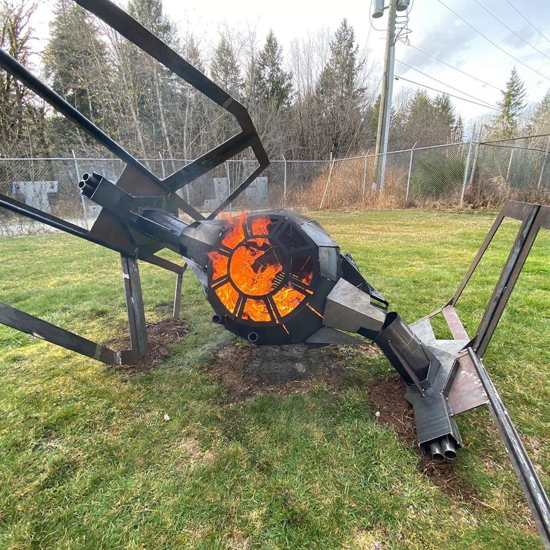Fire pit - Fire