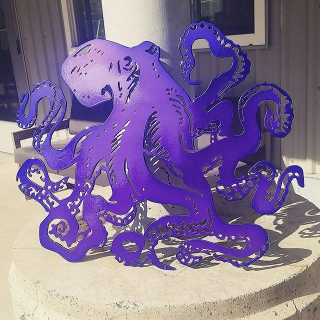Purple Octopus!
